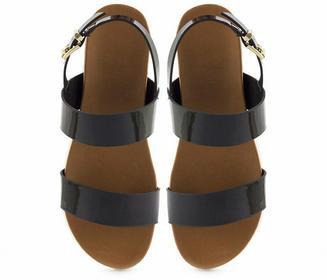 Czarne sandały Daria czarny