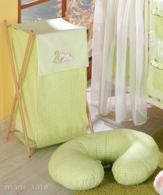 Mamo-Tato Kosz na bielizn śpiący miś w zieleni