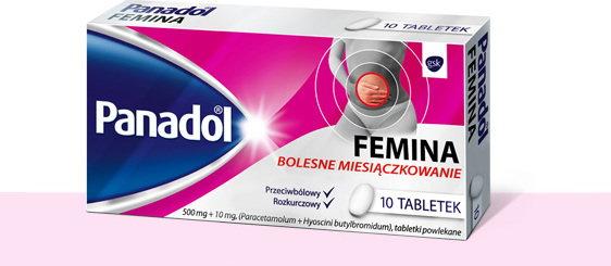 GlaxoSmithKline Panadol Femina (Vegantalgin H) 10 szt.