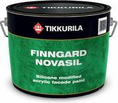 Tikkurila Farba akrylowo silikonowa Fingard Novasil 0.9L - Farba akrylowo siliko