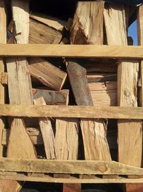 BIOVITA Drewno kominkowe bukowe PALETA 500kg