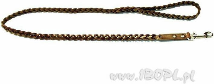 ZUBÍČEK Smycz pleciona szerokość: 1,4 cm. / długość: 125 cm. ZU-VO30