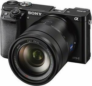 Sony ILCE-6000YB + 16-50 + 55-210 kit czarny