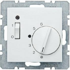 Berker HAGER - Regulator temperatury pomieszczenia z zestykiem zwiernym, element