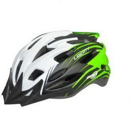 AXER SPORT Kask row. Liberty green/white