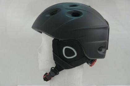 L.A.Sports Erwachsene Helm Ski Und Snowboardhelm Storm H10, Schwarz, L, 15566