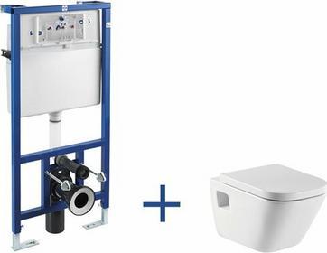 Roca Gap - Zestaw podtynkowy (miska wc podwieszana + stelaż podtynkowy Do kompaktu WC 3/6