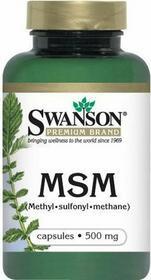 SWANSON MSM Metylosulfonylometan 500mg