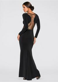 Bonprix Sukienka wieczorowa czarny 961026