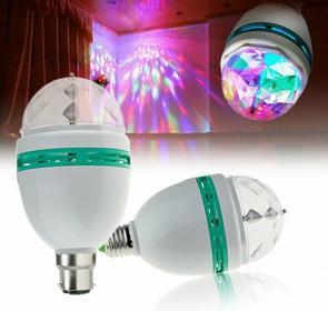 Disco LED żarówka