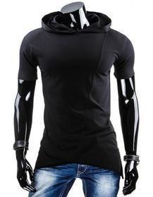 Dstreet T-Shirt z kapturem (rx1552) - czarny