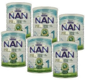 Nestle 6x Nan Opti Pro Plus 1 400g