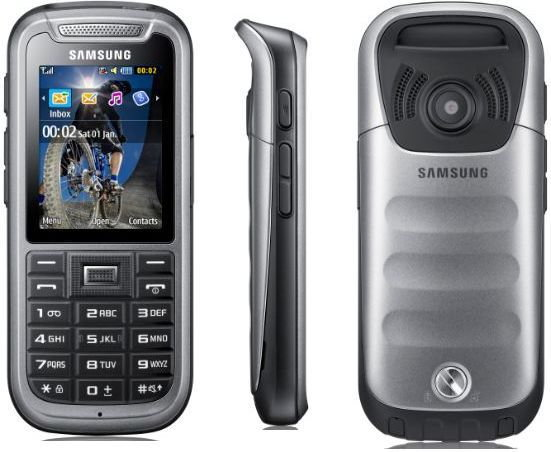Samsung C3350 Solid Szary
