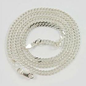 Łańcuszek srebrny rombus Ł26/0 50cm (Ł26/0 50cm 7.0g)