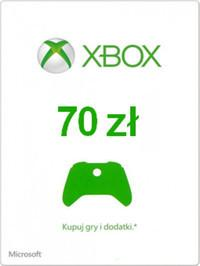 Microsoft Digital Karta Przedpłacona Csv 70 Pln Klucz Xbox Live