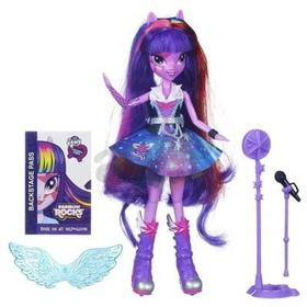 Hasbro My Little Pony Equestria Girls - Lalka Piosenkarka Twilight Sparkle A6780