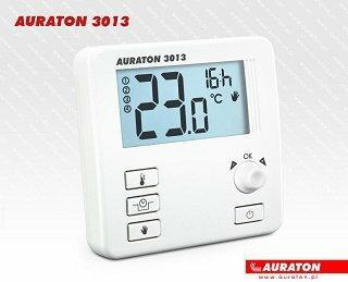 Lars AURATON 3013 Regulator dobowy przewodowy z wyświetlaczem, obniżenie nocne k