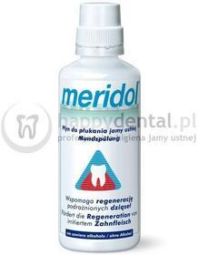 Meridol Gaba Classic 400ml - płyn wspomagający regenerację podrażnionych dziąseł
