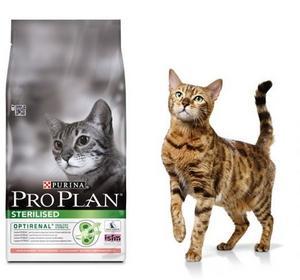 Purina Pro Plan Sterilised karma dla kota bogata w łososia 10kg