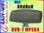 Sklep Easy-WiFi ANTENA ZEWNĘTRZNA TV/FM DVB-T DVBT MPEG4 80dBuV