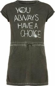 s.Oliver Sukienka jeansowa dark grey 66504822225