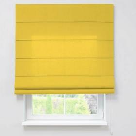 Dekoria Roleta rzymska Capri, żółty , szer.160 x dł.170 cm, Loneta