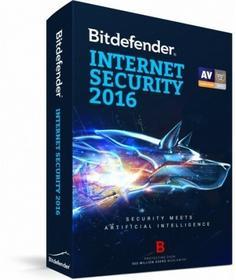 Bitdefender Internet Security 2016 (1 rok)