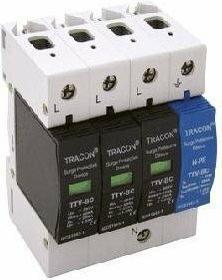 Tracon Electric TTV-BC 325-2 Ogranicznik przepięć 25 KA 3F KLASA B+C 3-POLOWY +