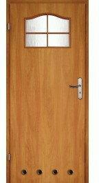 Skrzydło drzwiowe łazienkowe Classik 80 lewe olcha
