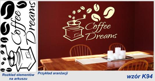 Naklejka do kuchni Coffee Dreams - K94