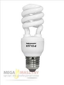 Polux Żarówka energooszczędna E27 CFL 11W Zimna SE0990