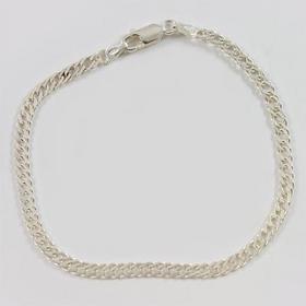 Bransoletka srebrna rombo B14/0 19cm (B14/0 19cm)