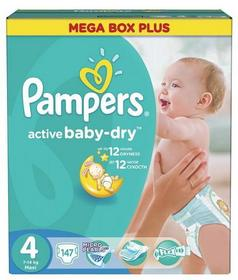 Pampers Active Baby-Dry 4 Maxi 147 szt.
