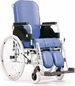 Vermeiren Wózek inwalidzki z urządzeniem sanitarnym typ 9100