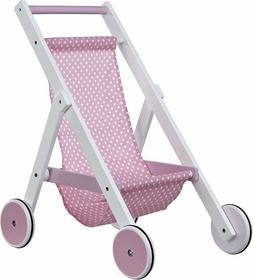 Kids Concept Wózek dla Lalek Róż 412883