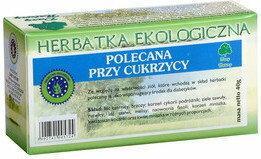 Dary Natury HERBATKA POLECANA PRZY CUKRZYCY BIO (20 x 2 g)