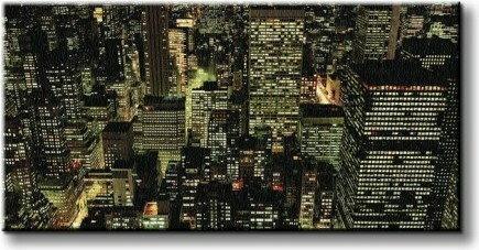 Manhattan Night - Obraz na płótnie