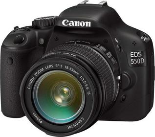 Canon EOS 550D + 18-55 IS + 55-250 IS