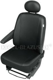Kegel-Błażusiak pokrowce Pokrowiec na przedni fotel samochodowy PRACTICAL czarny