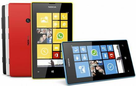 Microsoft Lumia 520 Niebieski