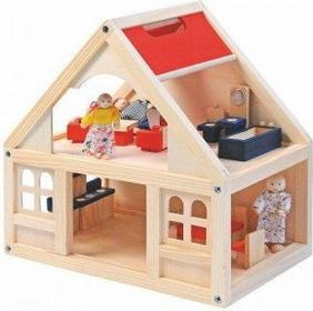 Woodyland Domek dla lalek z akcesoriami WL90904
