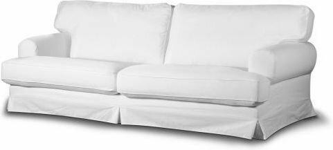 Dekoria Pokrowiec na sofę Ekeskog rozkładaną Sztruks piaskowo-żółty Sztruks