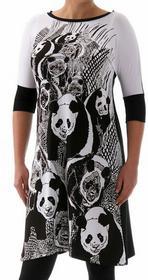 Freeshion Panda 76691067 biało-czarny