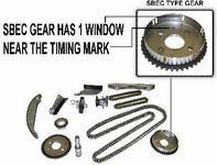 DNJ Rozrząd kpl łańcuchy ślizgi koła zębate oraz napinacze Dodge Intrepid 2,7 V6