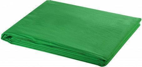 Tło fotograficzne, bawełniane, zielone