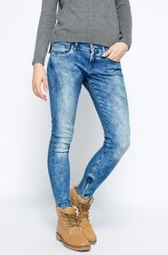 Pepe Jeans jeansy - - Jeansy Cher granatowy PL200969D63
