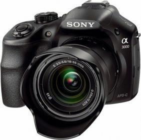 Sony ILCE-3000KB + 18-55 kit czarny