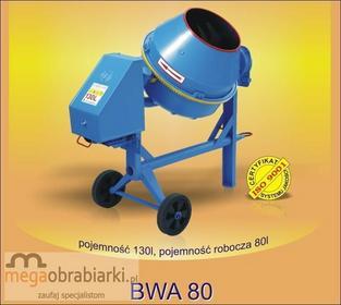 AGRO-WIKT Betoniarka wolnospadowa BWA 80