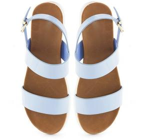 niebieskie sandały Daria