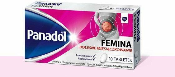 GlaxoSmithKline Panadol Femina (Vegantalgin H)